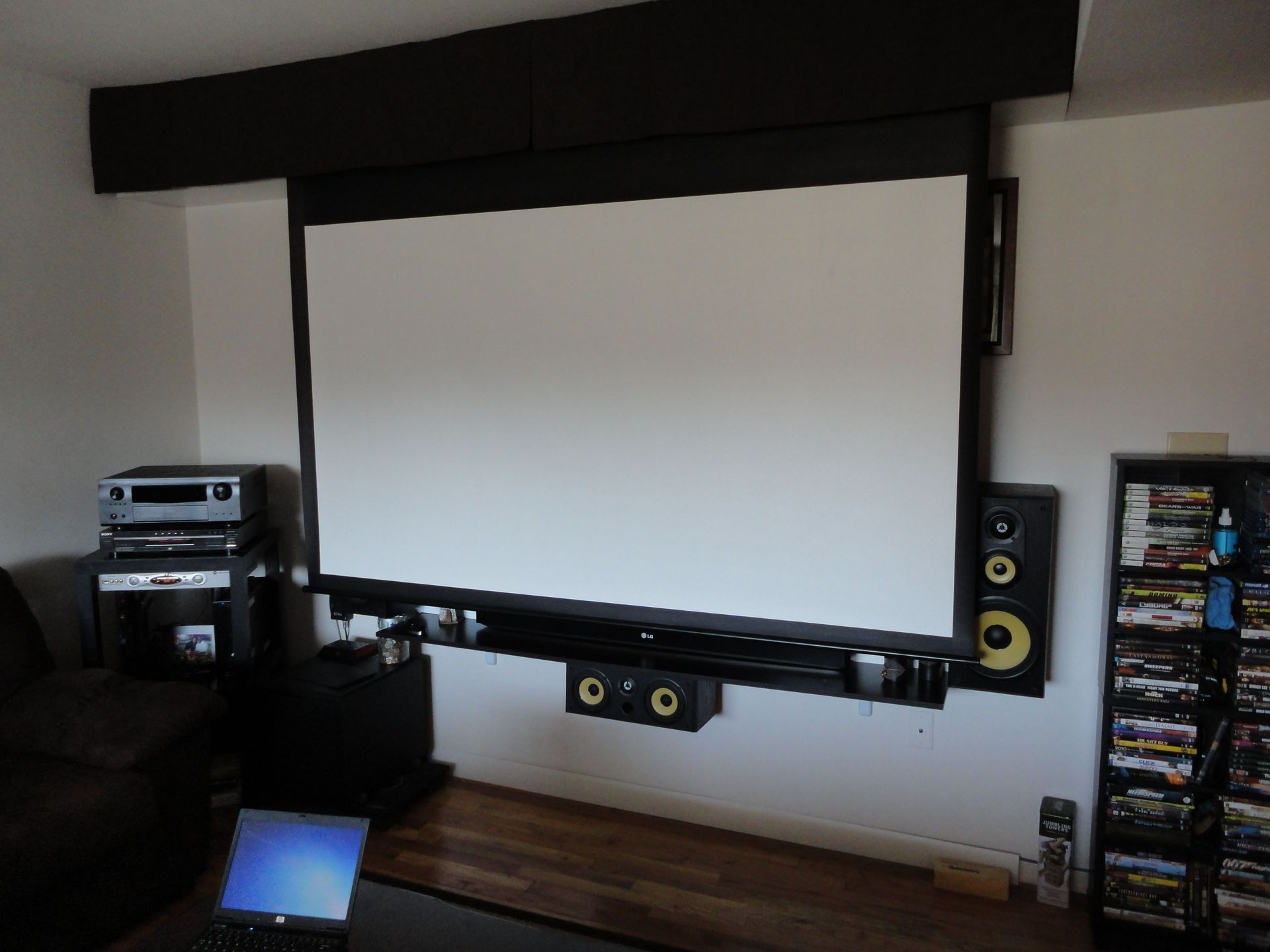 trinybwoy\'s Home Theater Gallery - Trinybwoy\'s Humble Apartment HT ...