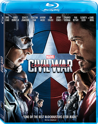 Captain America: Civil War (Blu-ray) Temporary cover art