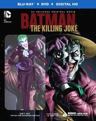 Batman: The Killing Joke (Blu-ray) Temporary cover art