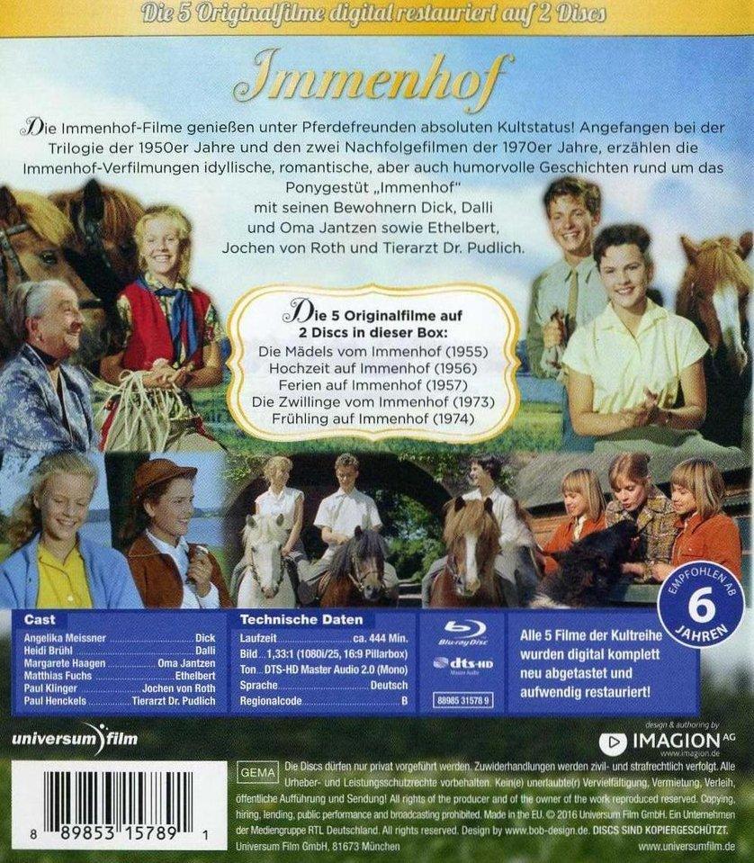 Immenhof Die 5 Originalfilme Blu Ray Die Mädels Vom