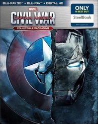 Captain America: Civil War 3D (Blu-ray) Temporary cover art