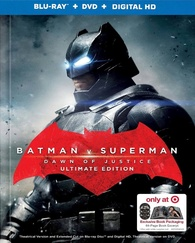 Batman v Superman: Dawn of Justice (Blu-ray) Temporary cover art