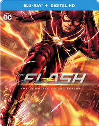 The Flash: The Complete Second Season (Blu-ray) Temporary cover art