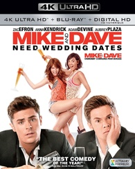 Mike and Dave Need Wedding Dates 4K (Blu-ray)