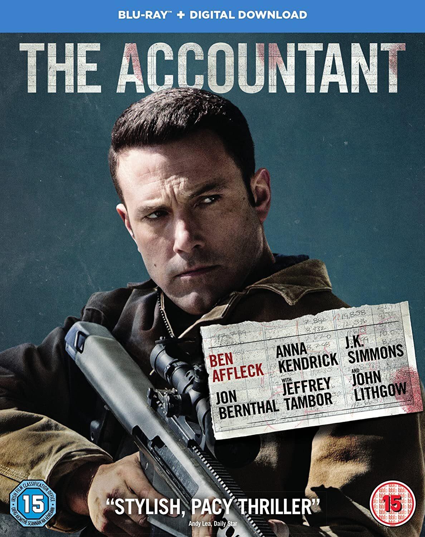 Resultado de imagem para the accountant blu ray