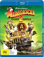 Madagascar and Penguins of Madagascar 4 Movie Collection Blu-ray
