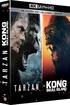 The Legend of Tarzan 4K / Kong: Skull Island 4K (Blu-ray)