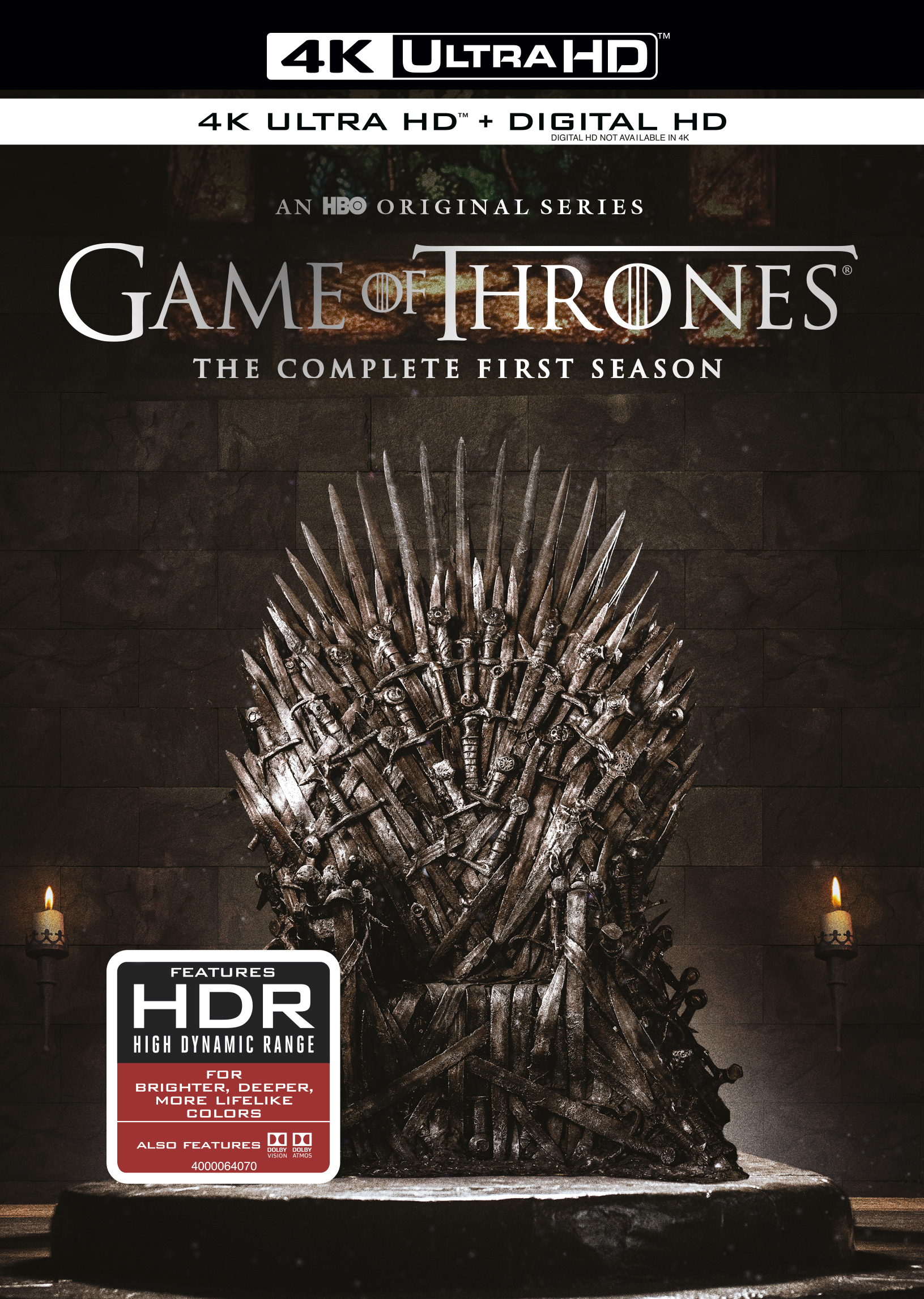 Game of Thrones: The Complete First Season 4K Blu-ray