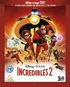 Incredibles 2 3D (Blu-ray)
