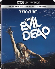 The Evil Dead 4K (Blu-ray) Temporary cover art