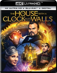 The House with a Clock in Its Walls 4K (Blu-ray)