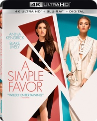 A Simple Favor 4K (Blu-ray)