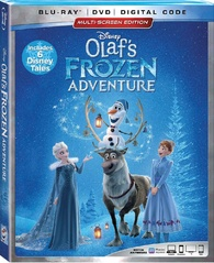 Olaf's Frozen Adventure (Blu-ray) Temporary cover art