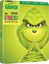 Dr. Seuss' The Grinch (Blu-ray) Temporary cover art