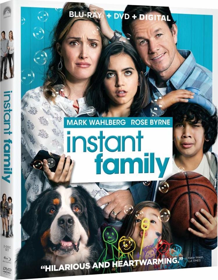 ผลการค้นหารูปภาพสำหรับ Instant Family (2018) bluray