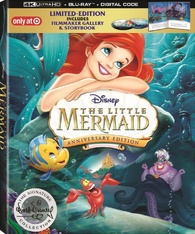 The Little Mermaid 4K (Blu-ray)