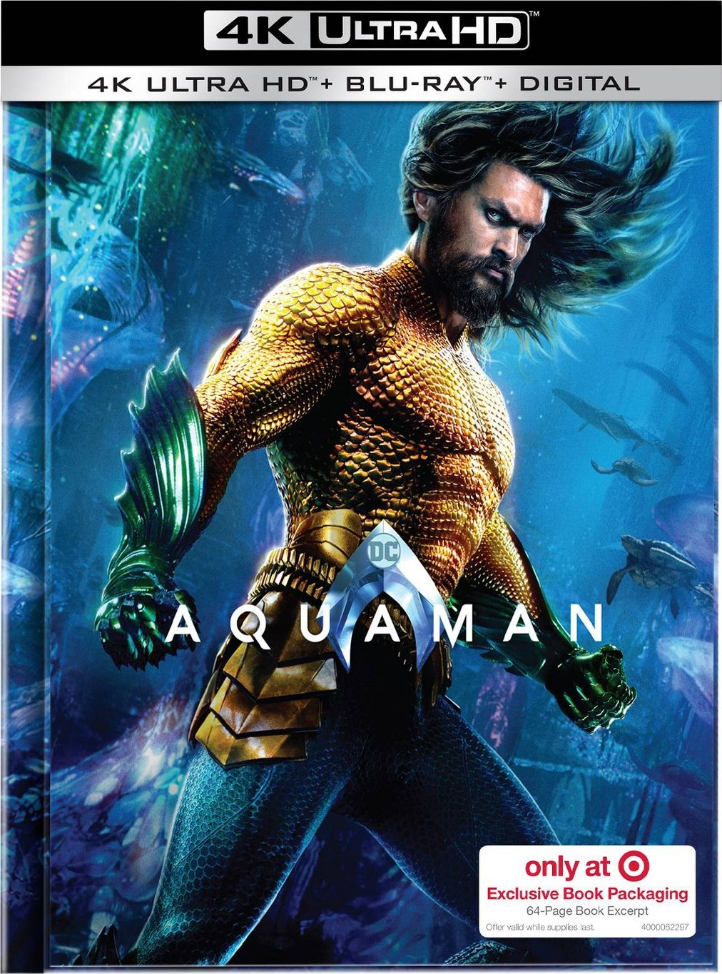 AQUAMAN Digital HD & Blu-ray Release Date, Special Features