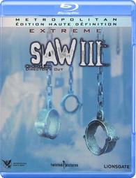 Saw III Blu-ray: Director's Cut