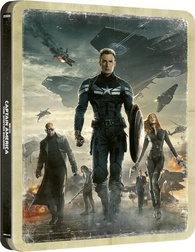 Captain America: The Winter Soldier 4K (Blu-ray) Temporary cover art