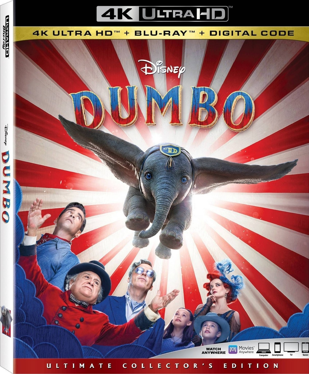 Dumbo – 4K UHD Remux 2160p – Dual Áudio