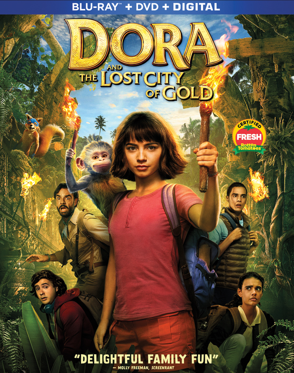 Dora and the Lost City of Gold (2019) Dual Audio] Hindi 480p BluRay ORG.x264 AAC ESubs 300MB