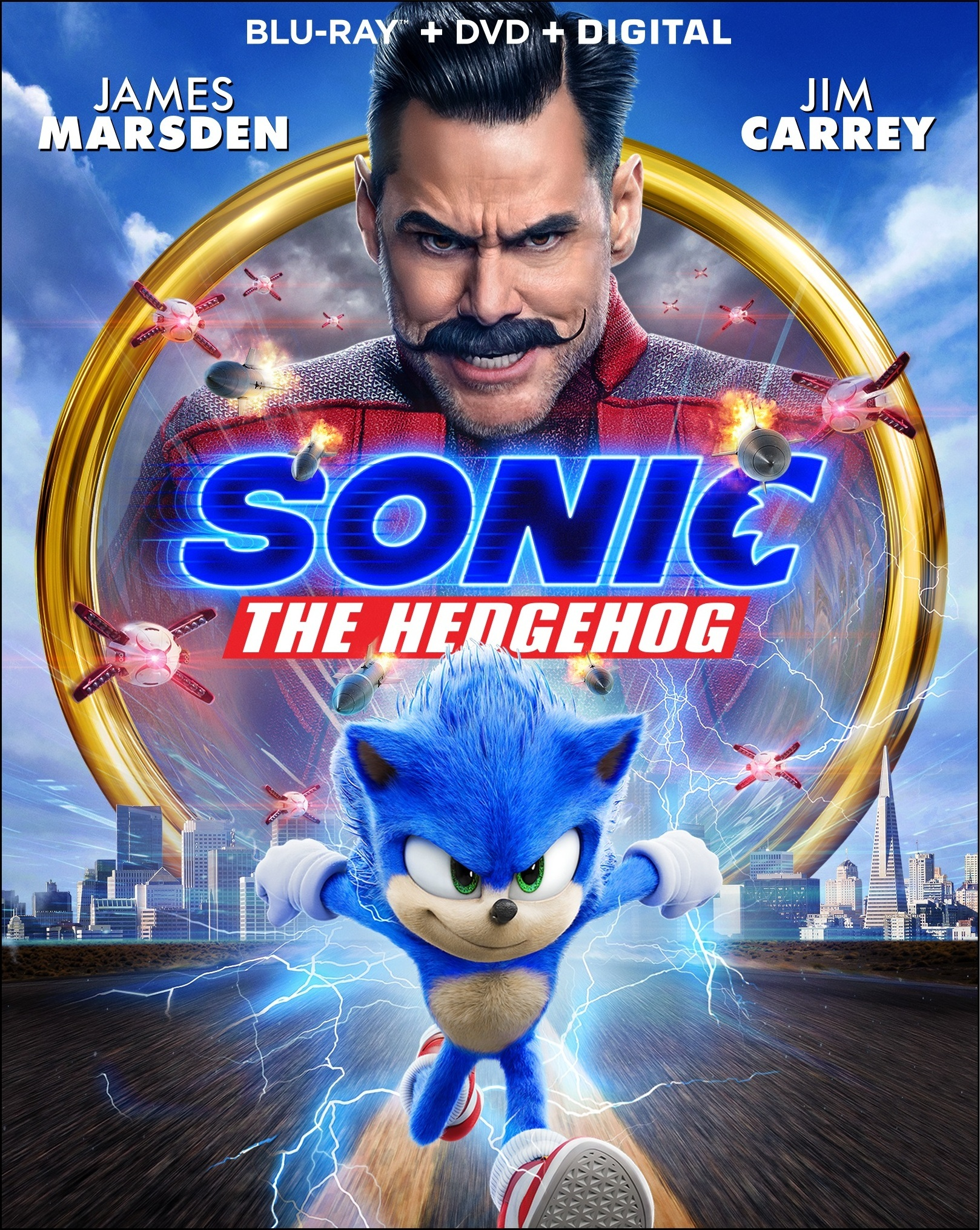 Sonic The Hedgehog Speeding To Digital Hd Early Full 4k Ultra Hd