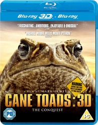 Cane Toads: The Conquest (2010) Blu-ray 3D [Region B