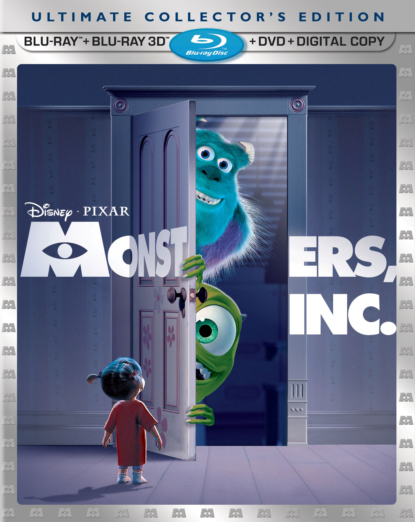 Monsters inc blu ray recommend to wear for winter in 2019