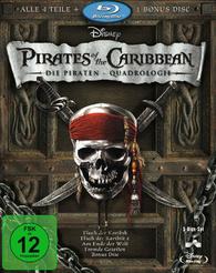 pirates of the caribbean quadrilogy blu ray
