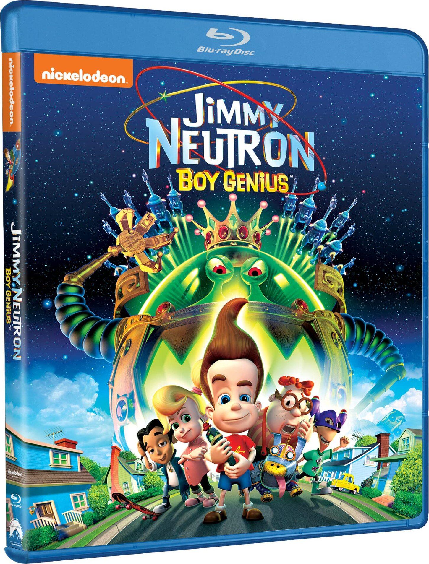 Jimmy Neutron: Boy Genius Blu-ray