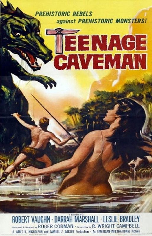 Movie Poster Teenage Caveman 1958