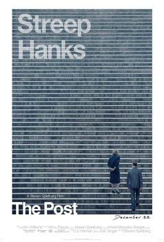 24x36 The Post Movie Poster - Tom Hanks Sarah Paulson v2 Meryl Streep