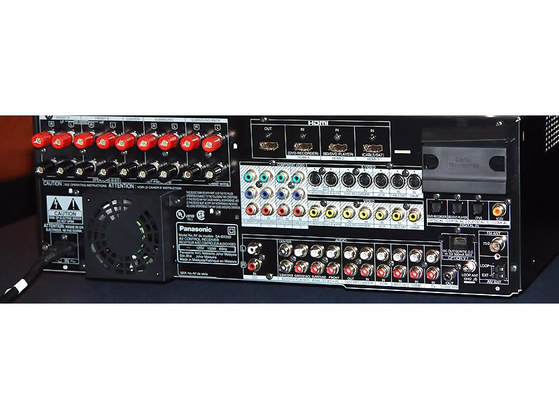 Panasonic SA-BX 500