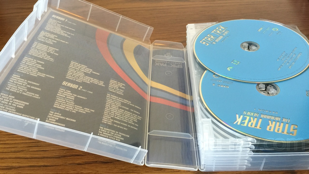 VIVA ELITE Hold 3 Discs Blu-Ray replacement case 5 Pack Canada and USA 3 Tray