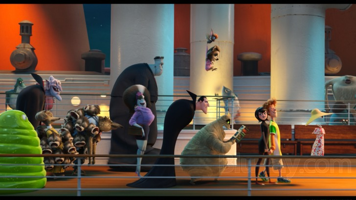 Hotel Transylvania 3: Summer Vacation Blu-ray: Monster Party