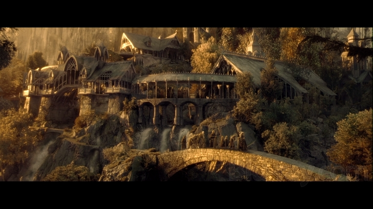 The lord of the rings trilogy extended edition blu-ray release.