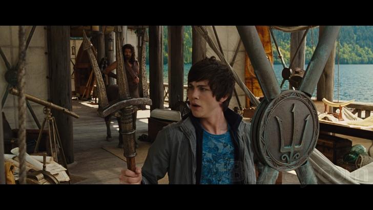 Percy Jackson The Olympians Lightning Thief Blu Ray Video Quality