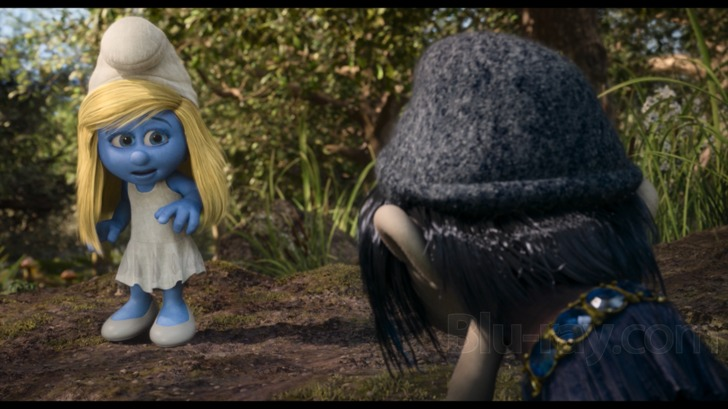the smurfs 2 in 3d blu ray