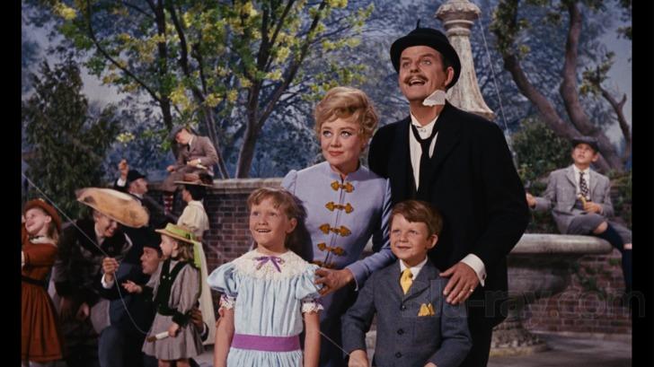 Mary Poppins Blu Ray 50th Anniversary Edition